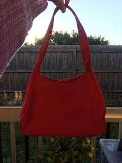 Red vintage bag clueless vibes