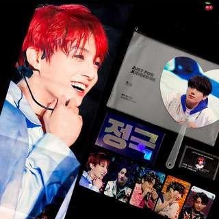 [Share] Jungkook Cherry slogan set