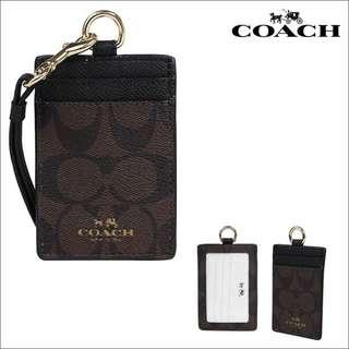 Coach Lanyard F63274 Brown