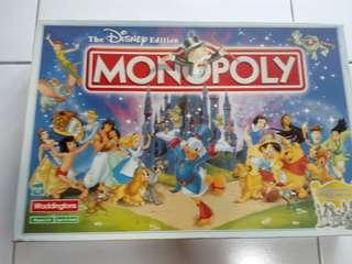 Monopoly disney (no dice and token)