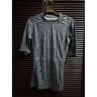 Adidas Techfit Compression Shirt Grey Size Medium