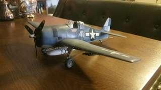 1/32二戰美國野貓戰機模型完成品