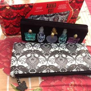 Anna Sui 5x Miniature Collection + Cosmetic Pouch
