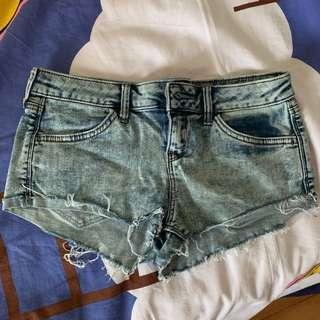 *包平郵* topshop denim shorts