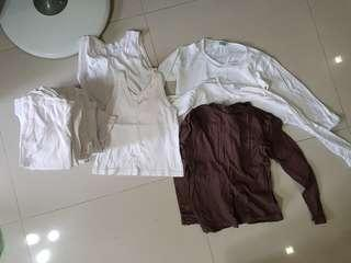 Long and short sleeve tops for girl