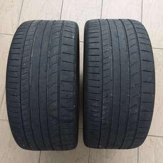 """Used 18"""" tires"""
