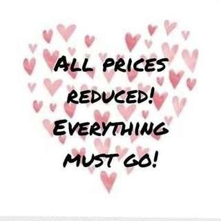 .prices reduced
