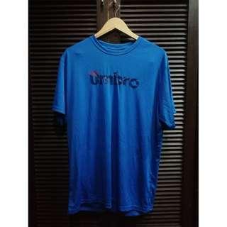 Umbro Drifit Training Shirt Blue Size XL