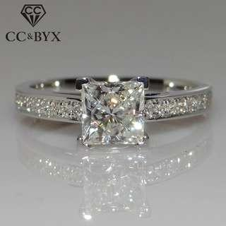 Women's Sterling 925 Engagement Ring Size US 4.5