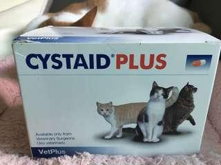 CYstaid Plus 貓貓尿道炎 膀胱炎 補健品 supplement