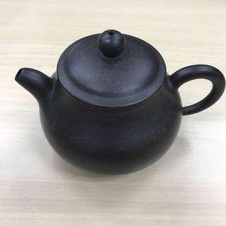 原礦黑金剛  紫砂壺