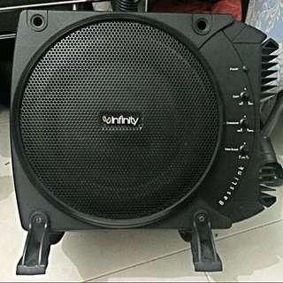 Infinity Basslink Amplifier Subwoofer