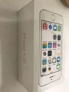 iPhone 5S accessories and original box only