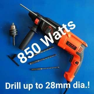 Proven Performance With Buyer's Review [ Pic 2-7 ]  Powerful Rotary Hammer Drill Professional  820 & 850W