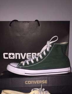Converse CT Hi Gloom Green