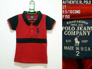 Toddler Polo 3T