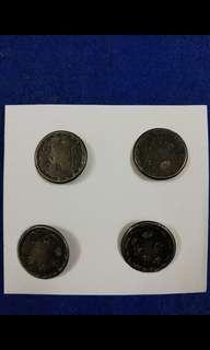 Antique rare silver buttons