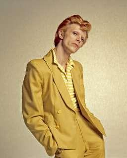 David Bowie in Yellow Suit in 1974 (Limited Edition)