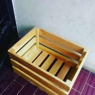 Box kayu jati landa