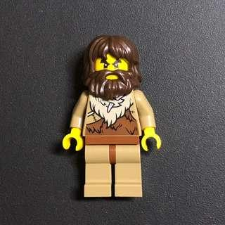 Lego Capital City 60200 Museum Caveman 獨有野人人仔一隻