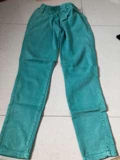 Celana Panjang Hijau Tosca