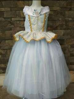 Dress princess aurora blue