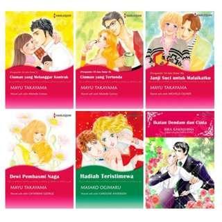 Paket Ebook Komik Harlequin Terjemahan 42