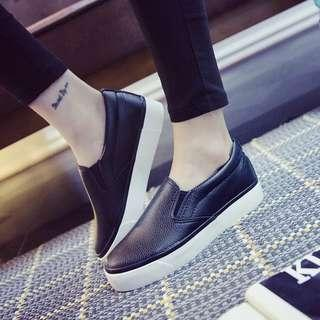 Spring New Black Shoes Student Korean style