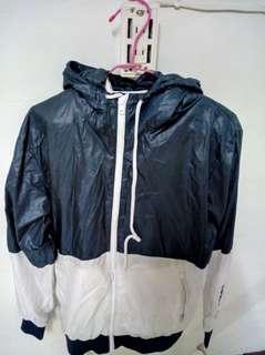 深藍/白運動外套