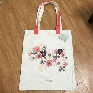 🚚 Hippy Dog Floral Tote Bag by Radley London