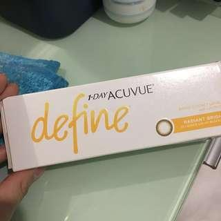 1 Day Acuvue Define Radiant Bright顏色