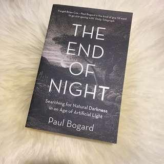The End of Night – Paul Bogard