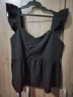 Peplum Top New XL