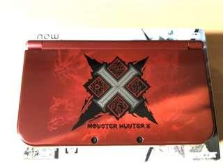 new3dsll mhx monster hunter x 限定版 limited edition 全套