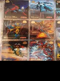 🚚 Vintage 1994 marvel universe trading cards 200 cards set