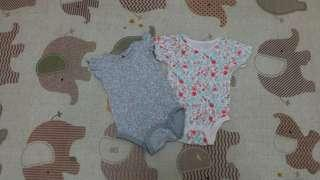Rompers (set of 2)