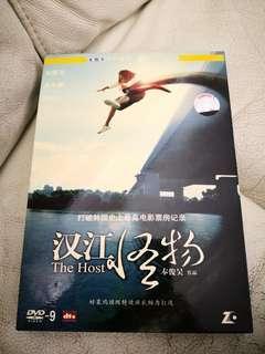 漢江怪物 the host dvd d9 國 粵 韓語
