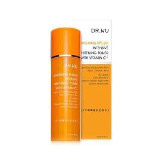 DR. WU Intensive Whitening Toner with Vitamin C 150ml #july70