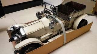 鐵車 老爺車 古董車模型 擺設 Metal Car Model