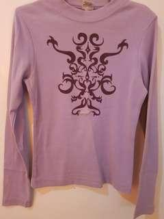 GUESS long sleeves Purple