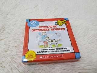 (NEW) Scholastic Decodable Readers