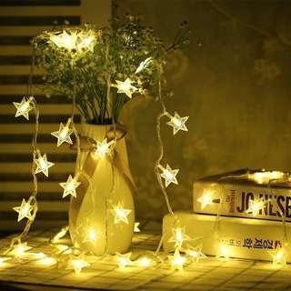 Brand New 3m Star Lights & 3m Bulb Lights