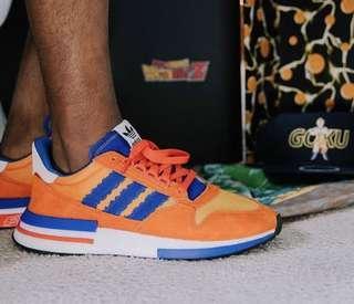 Us 8 Adidas Dragon Ball Goku Zx 500 rm orange