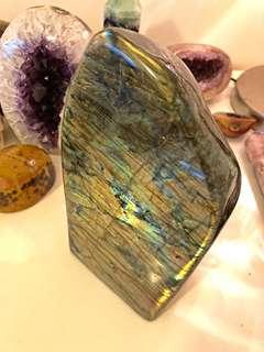 Labradorite crystal freeform