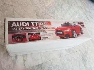 Battery Operated Audi Car