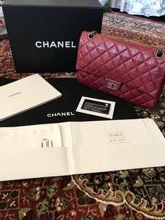 100% Authentic Chanel Reissue 226 Bordeaux