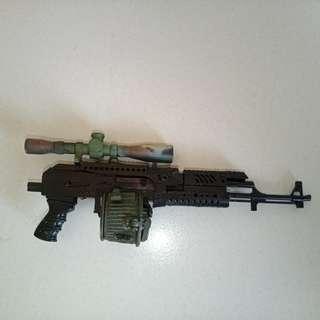 Rifle custom 1/6 scale