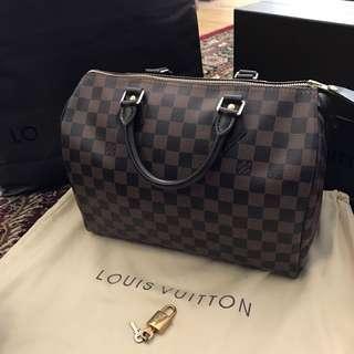 100% authentic Louis Vuitton speedy 30 DE
