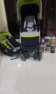 Safety 1st stroller and car seat ( baby carrier not included