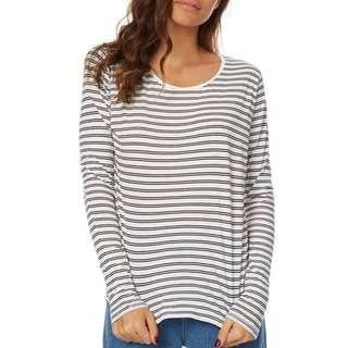 (Size 8) Striped Long Sleeve Top